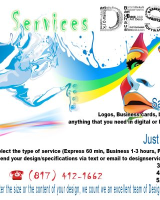 18 GRAPHIC DESING SERVICES